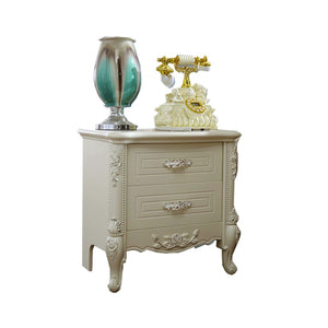 Elegance 2 Drawer Nightstand - Best Wish Shopping