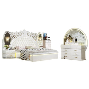 Elegant design configurable bedroom set - Best Wish Shopping