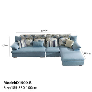 Elegant Floral Rest Sofa Bed - Best Wish Shopping