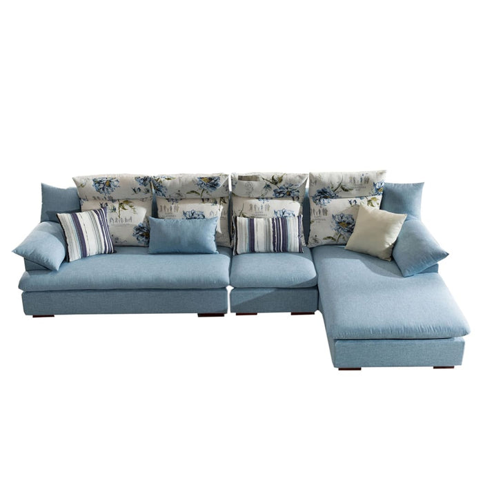 Elegant Floral Rest Sofa Bed