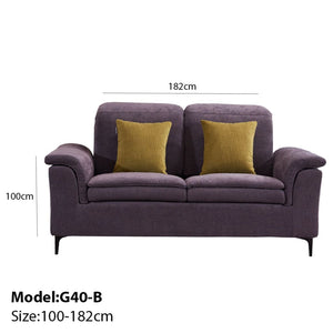 Elegant Magenta Armrest Sofa Bed - Best Wish Shopping