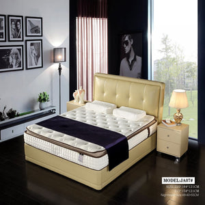 Exceptional Upholstered Platform Bed for Perfect Relaxation - Best Wish Shopping