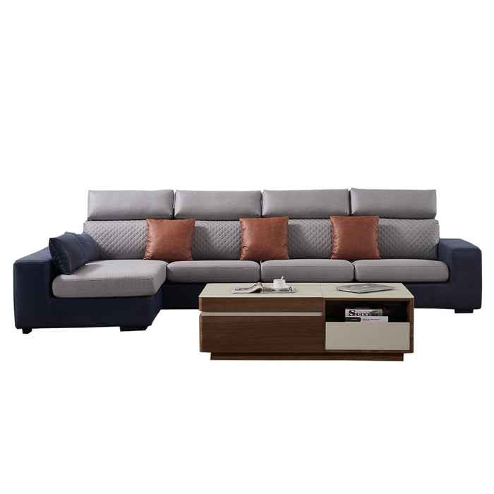 Exclusive Chaise with 3 seat sofa