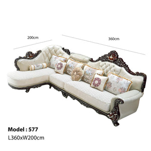 EXECUTIVE 1 + 3 Seat + Chaise bed - Best Wish Shopping