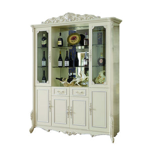 Four Doors Wine Cabinet - Best Wish Shopping
