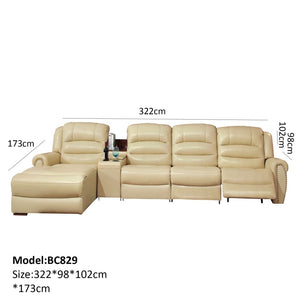 Functional Recliner Sofa with Modular Capabilities - Best Wish Shopping
