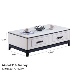 Functional Teapoy with Drawers - Best Wish Shopping