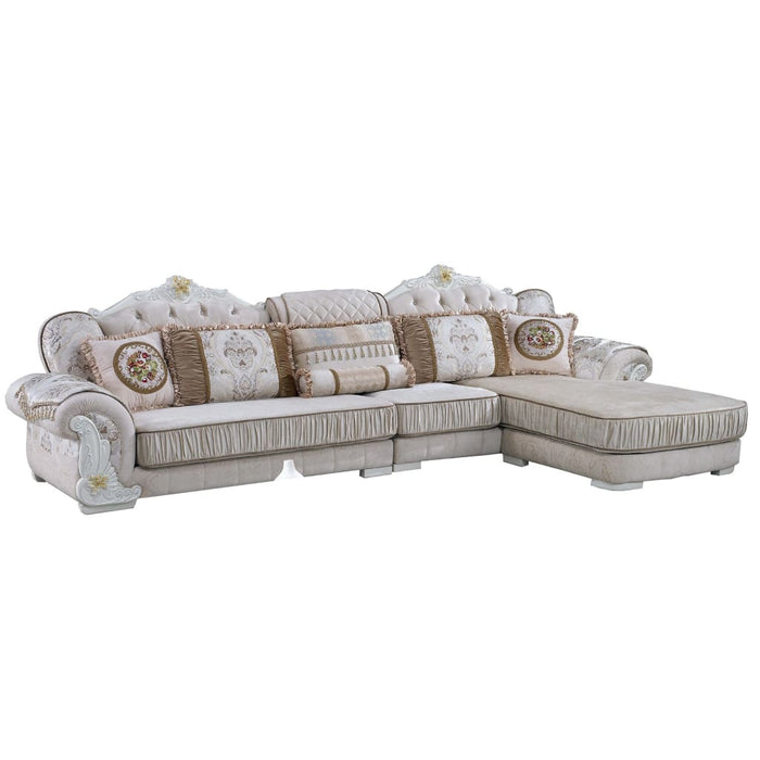 Golden Snow Sofa Chaise Bed