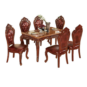 Gorgeous Brown Royal Style Dining set - Dining Table