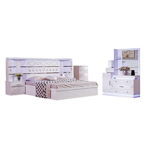 Grant Platform Configurable Bedroom Set - Best Wish Shopping