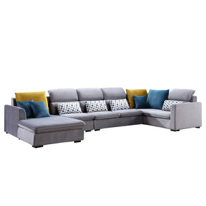 Gray Sectional Sofa - Best Wish Shopping