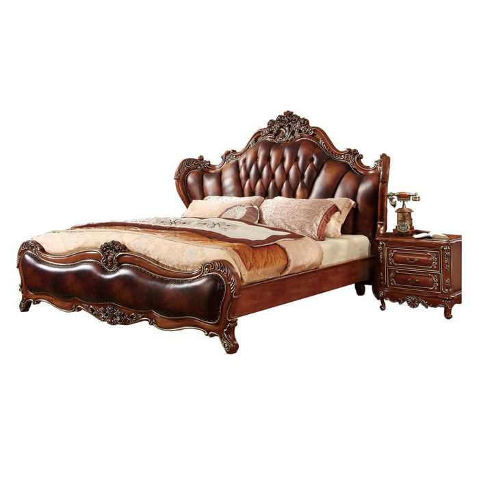 Handmade Luxury European Tufted Headboard Bed