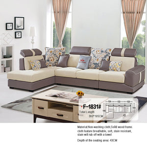 High Quality Sectional Sofa With Antique Design