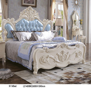 Imperial Upholstered Panel Bed - Best Wish Shopping