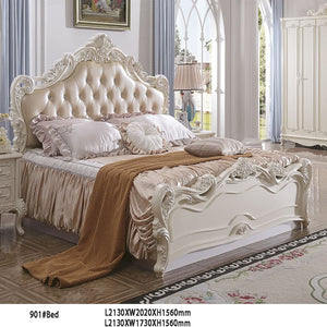 King Size Headboard bed - Best Wish Shopping