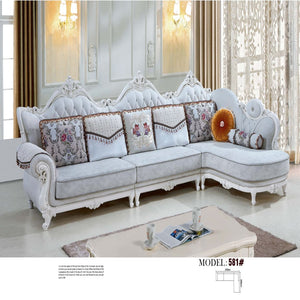 Luxurious 1 + 3 Seat + Chaise Bed - Sofa Chaise