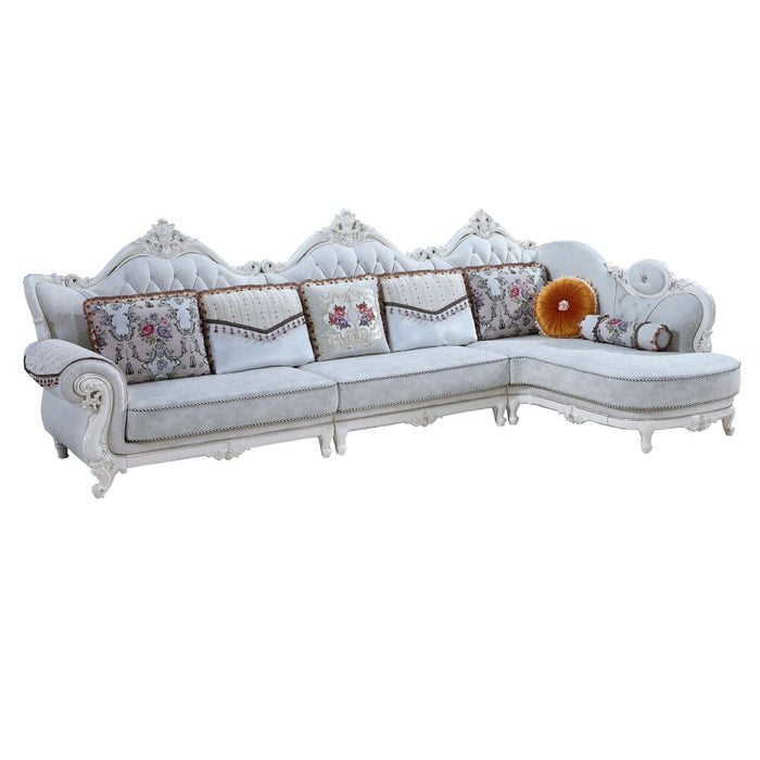 Luxurious 1 + 3 Seat + Chaise Bed