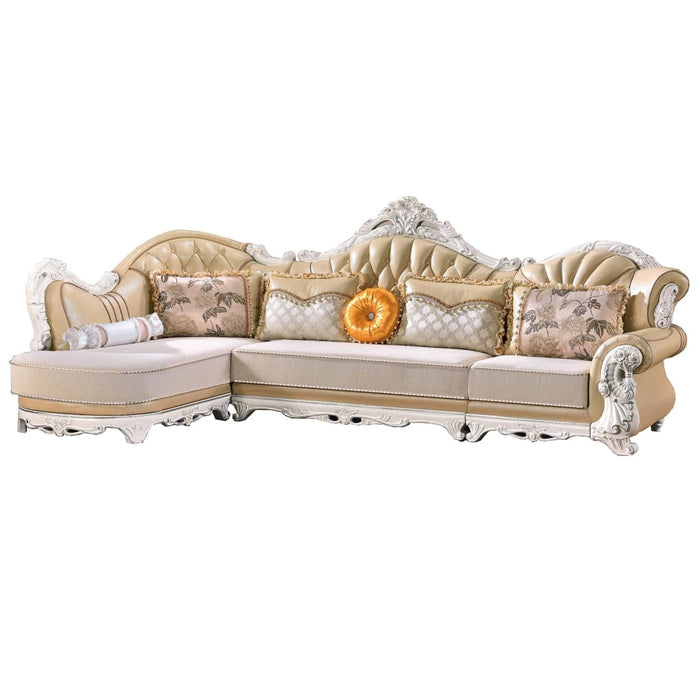 Luxurious 1+3Seat Chaise Bed