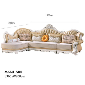 Luxurious 1+3Seat Chaise Bed - Sofa Chaise