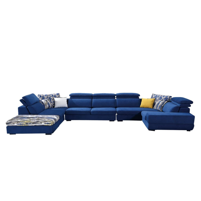 Luxurious Blue Sofa Bed