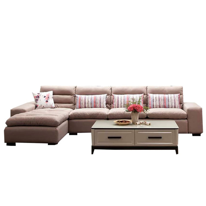 Maxwell Tufted Upholstered Left-Hand Sectional Sofa