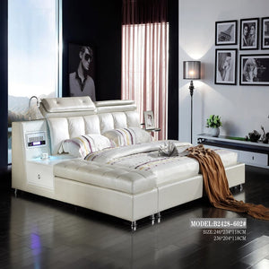 Mod Upholstered Luxurious Bed for Perfect Relaxation - Best Wish Shopping