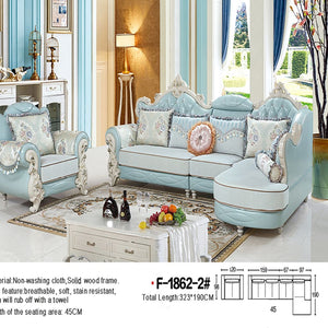 Modern Living Room Sectional Sofa with Sturdy Design - Best Wish Shopping