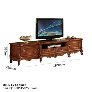 Natural Wood TV Cabinet - Best Wish Shopping