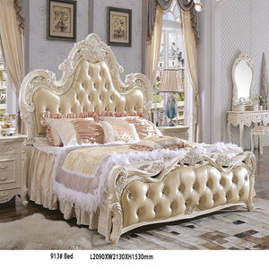 Palatial Furniture Upholstered Panel Bed - Bed