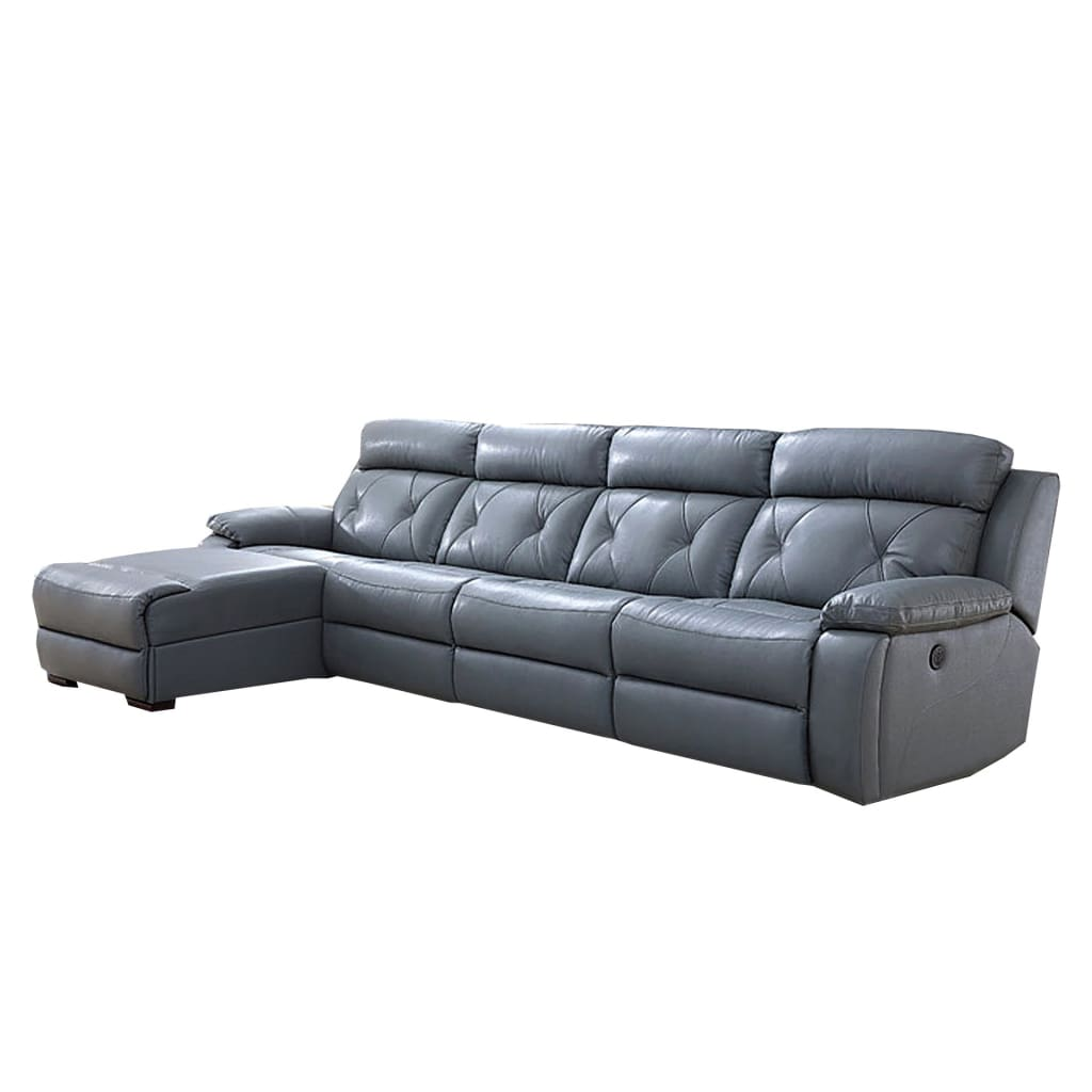 Picture of: Pluto Reclining Modular Leather Sectional Sofa Chaise Best Wish Best Wish Shopping