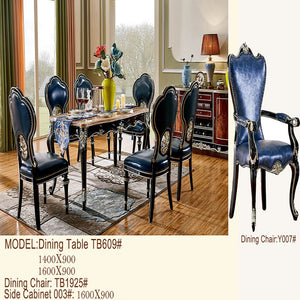 Poppy Expandable Royal Style Dining Set - Dining Table