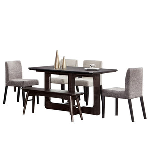Raymond Contemporary Style Dining Table - Dining Table