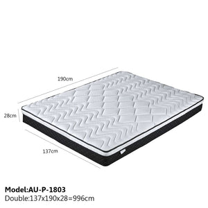 Restonic Memory Foam Mattress - Double - Mattress