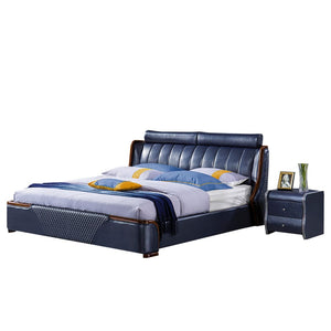 Rockledge Upholstered Panel Bed with Nightstand - Bed