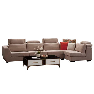 Roomy Right hand Facing sectional Sofa Set - Sofa Chaise