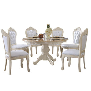 Round Shape Dining Table - Dining Table