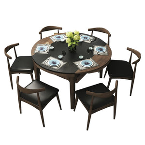 Round solid wood Dining Table - Dining Table