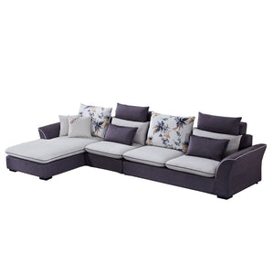 Royal Gray Sofa Bed - Sofa Chaise
