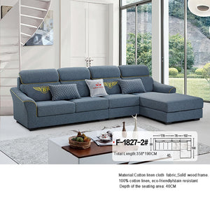 Sectional Sofa with Decorative Modern Design - Sofa Chaise