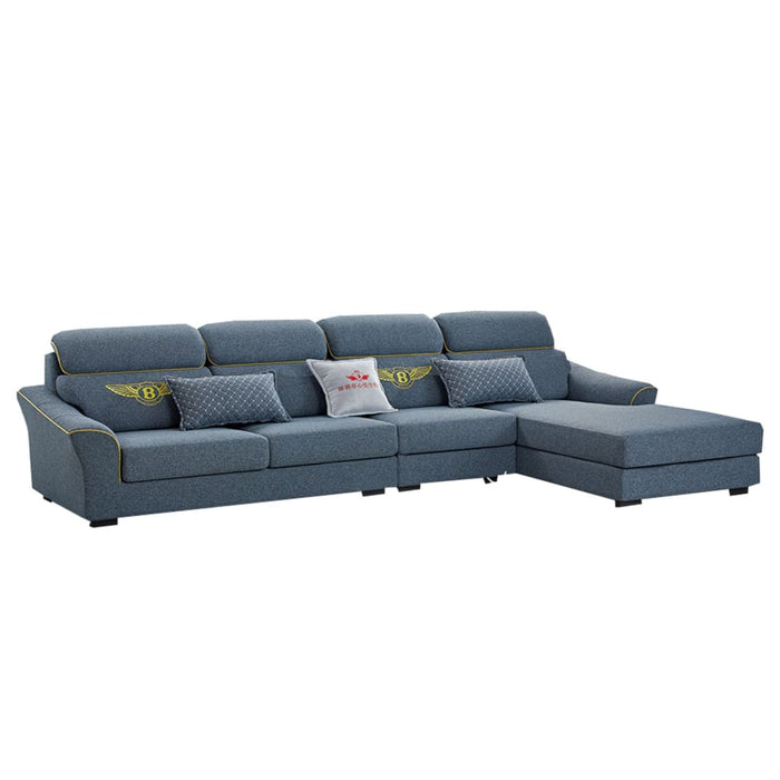 Sectional Sofa with Decorative Modern Design