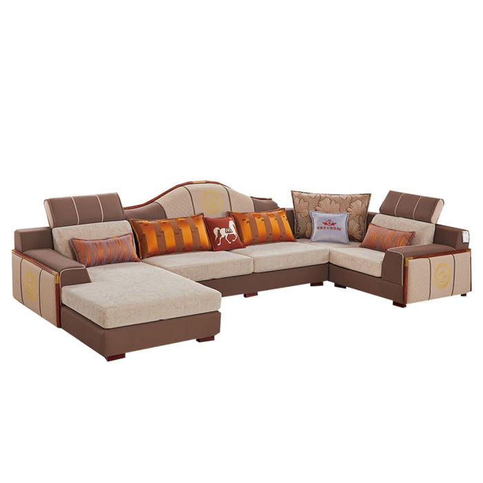Sectional Sofa With Decorative Modern Style Design