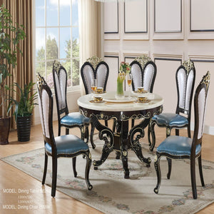 Silhouette Royal Style Dining Table - Dining Table