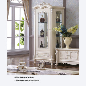 Single Door Cabinet - Wine Cabinet