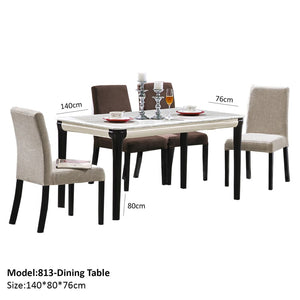 Solid Wood Dining Table - Dining Table