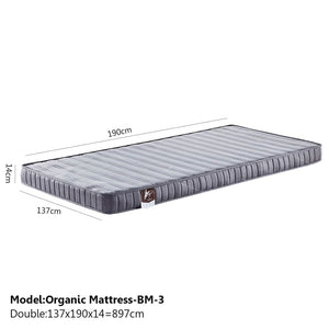 Sound Asleep Medium-Soft Mattress - Double - Mattress