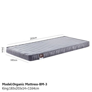 Sound Asleep Medium-Soft Mattress - King - Mattress