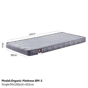 Sound Asleep Medium-Soft Mattress - Single - Mattress