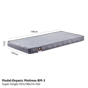 Sound Asleep Medium-Soft Mattress - Super single - Mattress