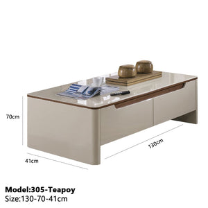 Space-saving Coffee Table - Teapoy