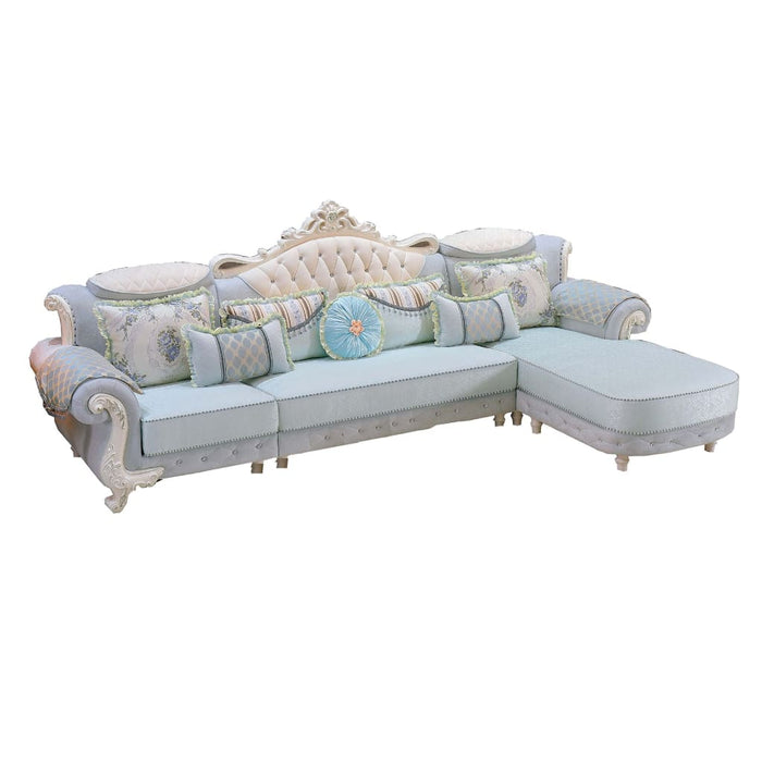 Spectacular 1 + 3 Seat + Chaise Bed